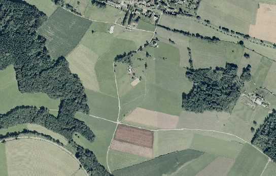 Luftbild Flugplatz